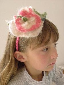 Haarbanden met bloem